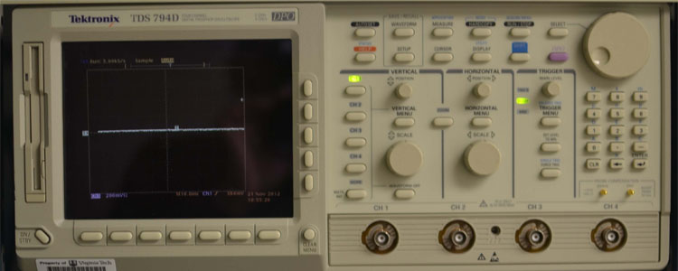 Oscilloscope Pulse Measurement : Facilities